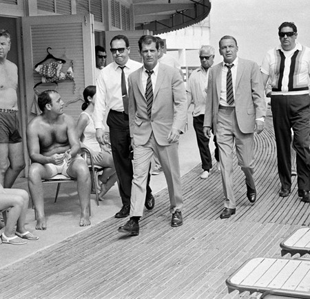 Frank Sinatra on the boardwalk 1968