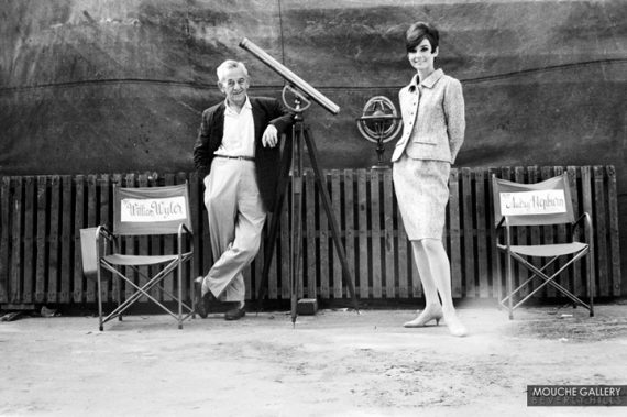 Audrey-Hepburn-and-William-Wyler