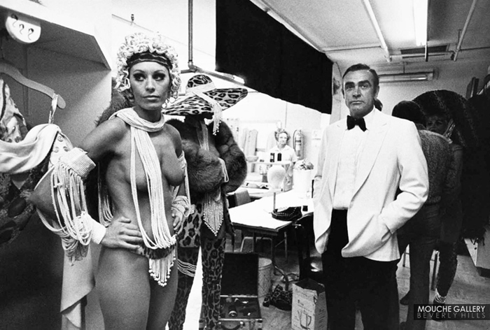 Terry o 39 neill sean connery las vegas 1971 for Miroir grossissant x20