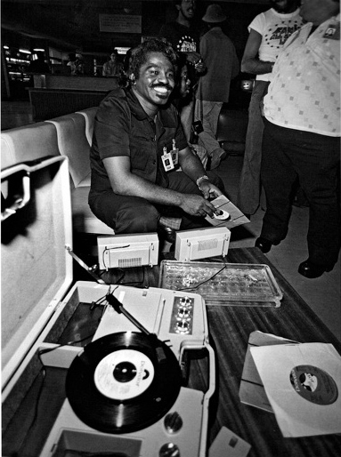 Lynn Goldsmith James Brown With Records Zaire 1974