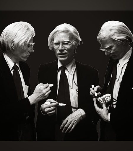 Andy Warhol B&W - The Signing V2 13 X 19 Revised