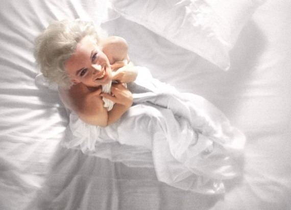 American actress, model and singer Marilyn Monroe poses naked in bed for photographer Douglas Kirkland on the evening of November 17th 1961 in Los Angeles. Douglas Kirkland, then aged 24, photographed the icon and sex symbol for his first major assignment for Look magazine, one of the most celebrated photo-shoots ever with the iconic sex symbol.