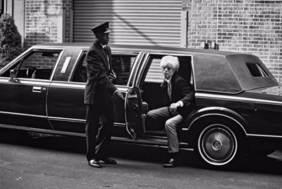 Lynn Goldsmith_David Bowie as Andy Warhol