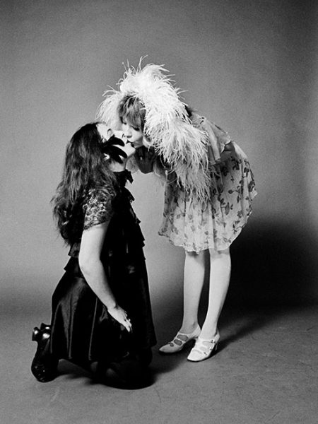 Miss Pamela and Miss Sandra of the groupie group called the GTO's at the A&M Studio in Los Angeles, CA, November 1968.