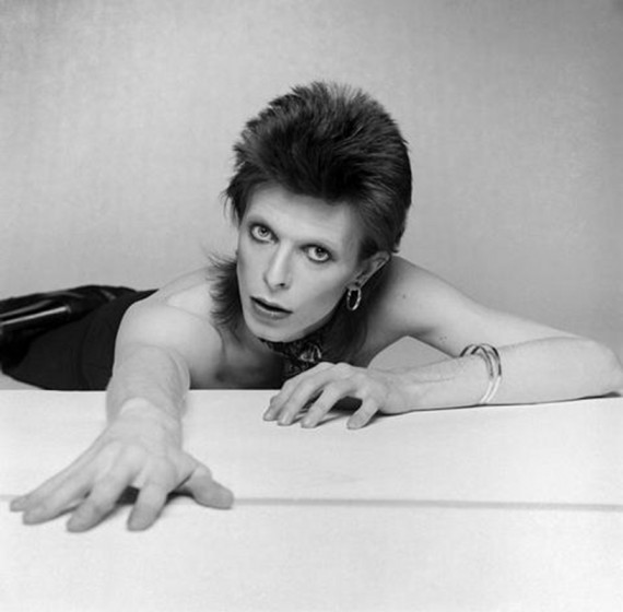 English singer, musician and actor David Bowie photographed for the Diamond Dog album cover, circa 1974.