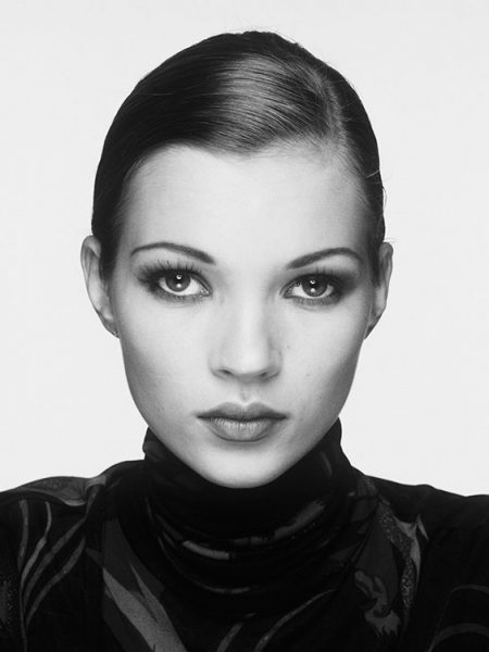 English supermodel Kate Moss, 1995.