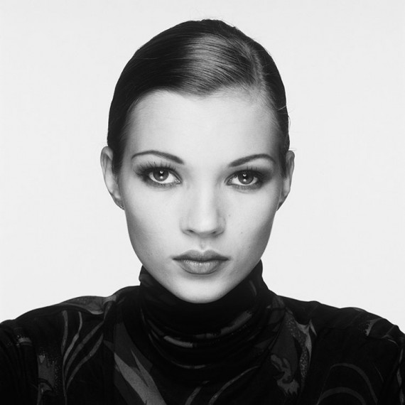 English supermodel Kate Moss, 1995.