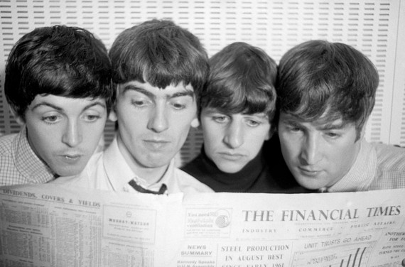 Beatles norman parkinson copy