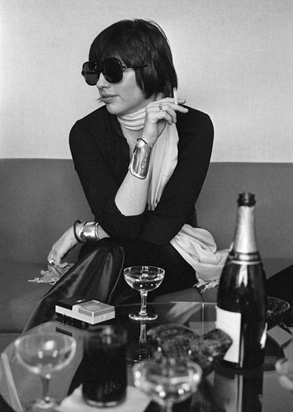 Singer and actress Liza Minnelli during an interview for her show 'Liza' on Broadway in NYC in 1974.