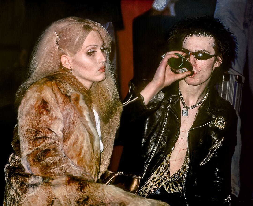Sid Vicious And Nancy Spungen Nyc 1978 By Lynn Goldsmith