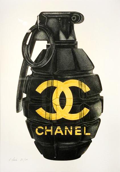Chanel Gold Grenade