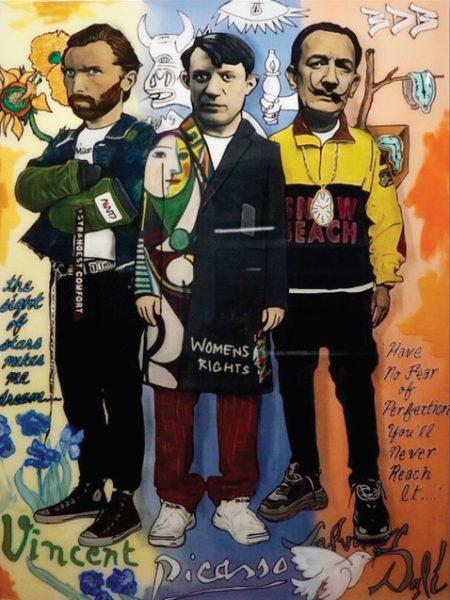 Vincent x Picasso x Dali - The Producer BDB