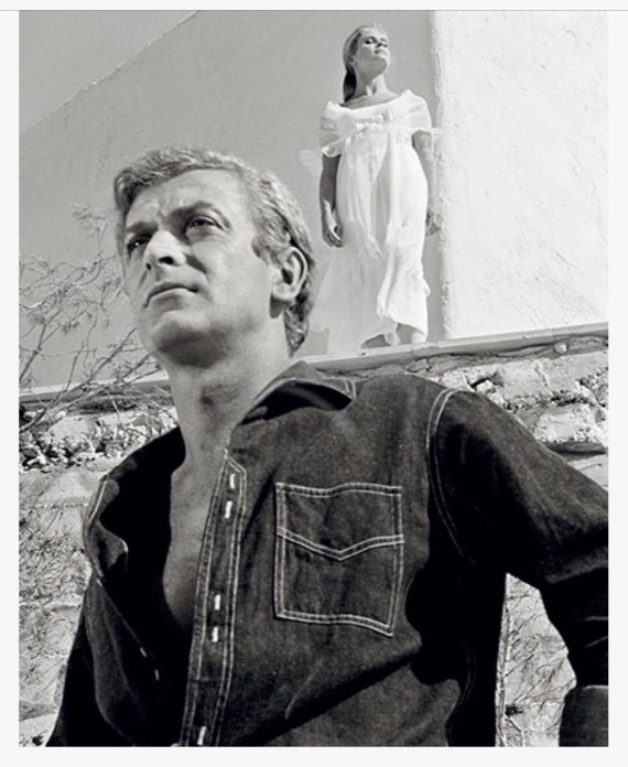 Terry O'Neill Candice Bergen and Michael Caine, The Magus (1968)