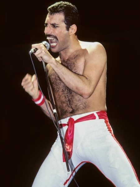 Freddie Mercury, 1982 by Lynn Goldsmith