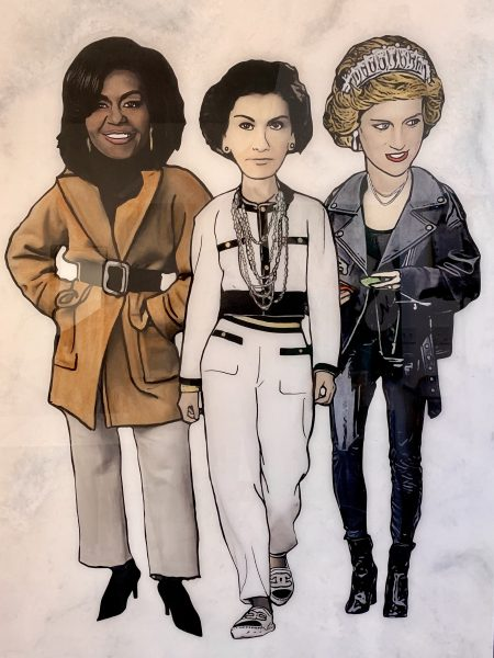 Michelle, Coco, Diana