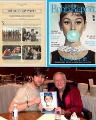 Robb Report Audrey Hepburn Hugh Hef