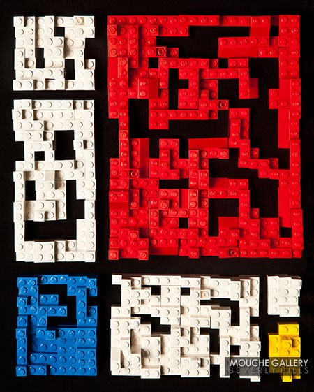 Mondrains-Lego