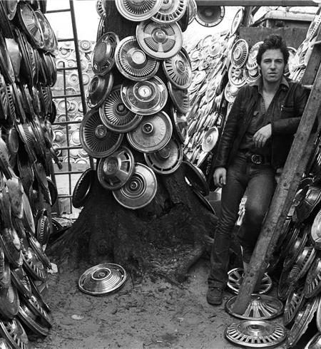 bruce springsteen hubcaps HOLMDEL, NEW JERSEY, 1978