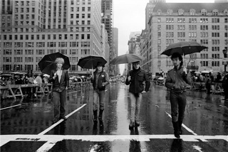 U2, NYC street, 1982