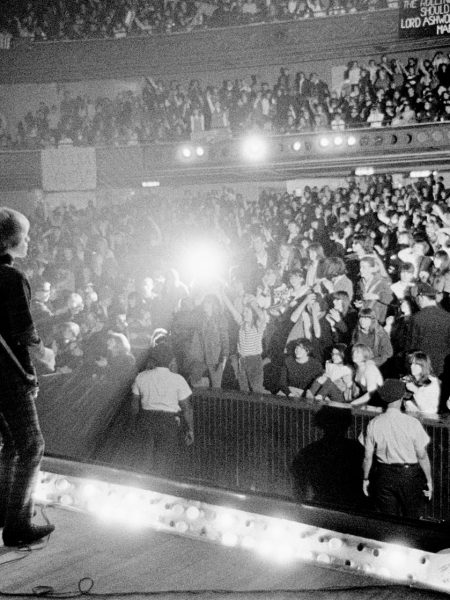 Autumn Tour USA 1965. Brian onstage at The Palladium in New York City at the begining of the tour.