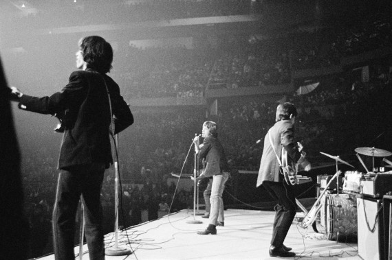 Autumn Tour USA 1965. Mick's energy was limitless and sometimes he would have to do two shows a day.
