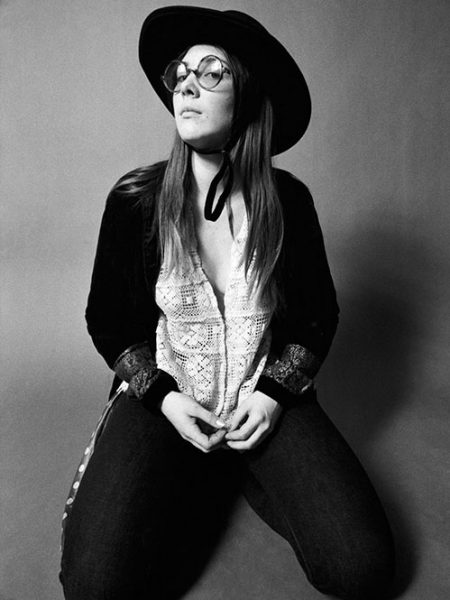 Rock groupie Tracy, 1969.