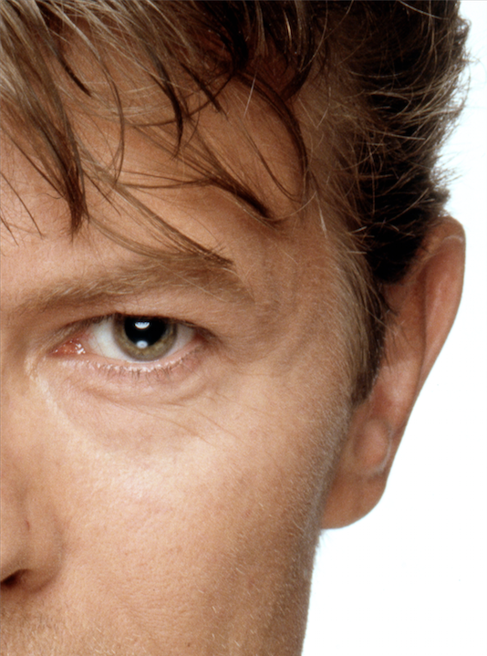 David Bowie Eyes Right Half By Terry Oneill
