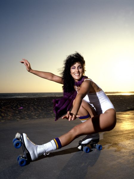 Cher at Venice Beach CA 1979