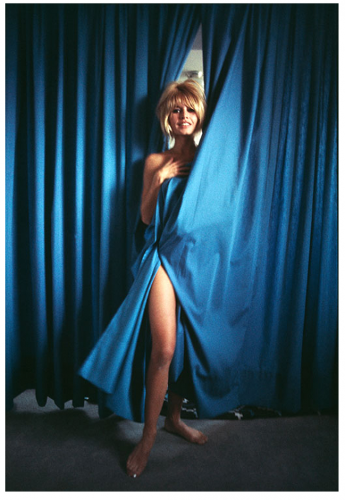 kirkland bardot blue curtain