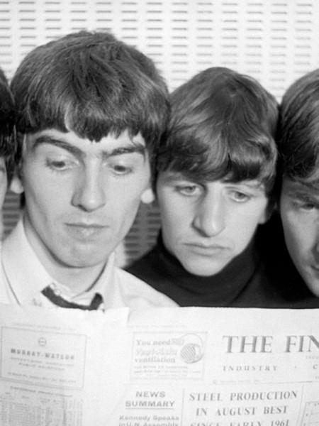 Beatles norman parkinson copy