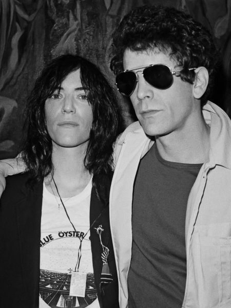 Patti Smith and Lou Reed 1977