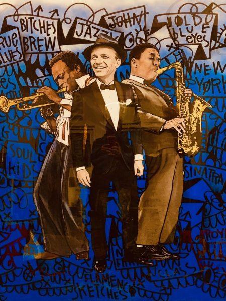 Sinatra x Coltrain x Davis by The Producer BDB x Flore