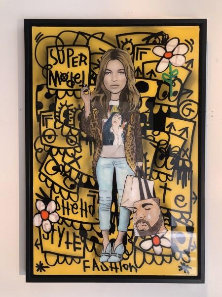 Supermodel Yellow Kate Moss - BDB x Flore