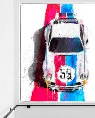 NICO 1973 Porsche 911 RSR BRUMO 40X50